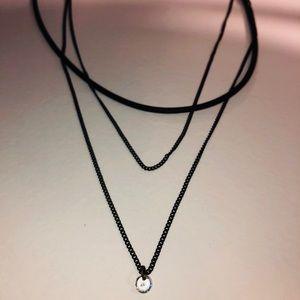 Jewelry - Layered Choker & Chains